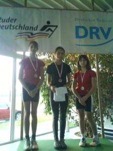 1. Platz Hessische Ergometermeisterschaft 2011